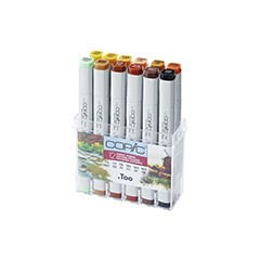 Flumastri COPIC Classic Autumn Colours - set 12 kom