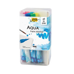 Set akvarel flumastrov Aqua Solo Goya Powerpack All-in-one