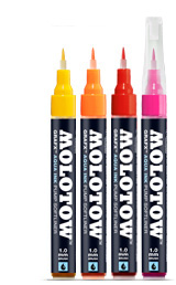 Markerji MOLOTOW™ GRAFX Aqua Ink Pump Softliner