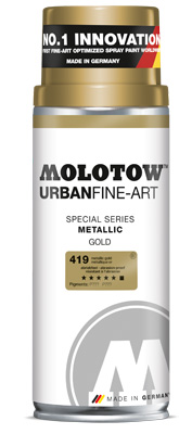 Sprej za grafite MOLOTOW™ UFA Metallic 400 ml