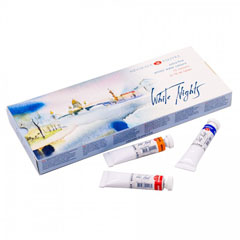 Set akvarel White Nights v tubi - 12x10 ml