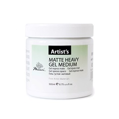 Mat gel medij Heavy 500 ml