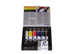 Oljne barve Van Gogh Start SET 6x20 ml