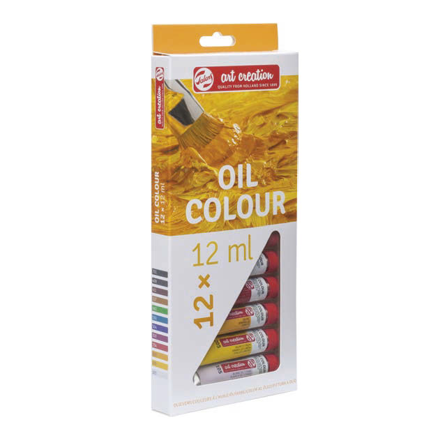 Set oljnih barv Royal Talens ArtCreation / 12 x 12 ml