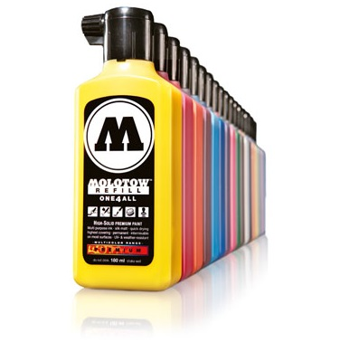 MOLOTOW rezervno polnilo ONE4ALL – 180 ml