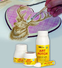 Lak in lepilo HOBBY Line ART POTCH Varnish & Glue - 150 ml / 250 ml
