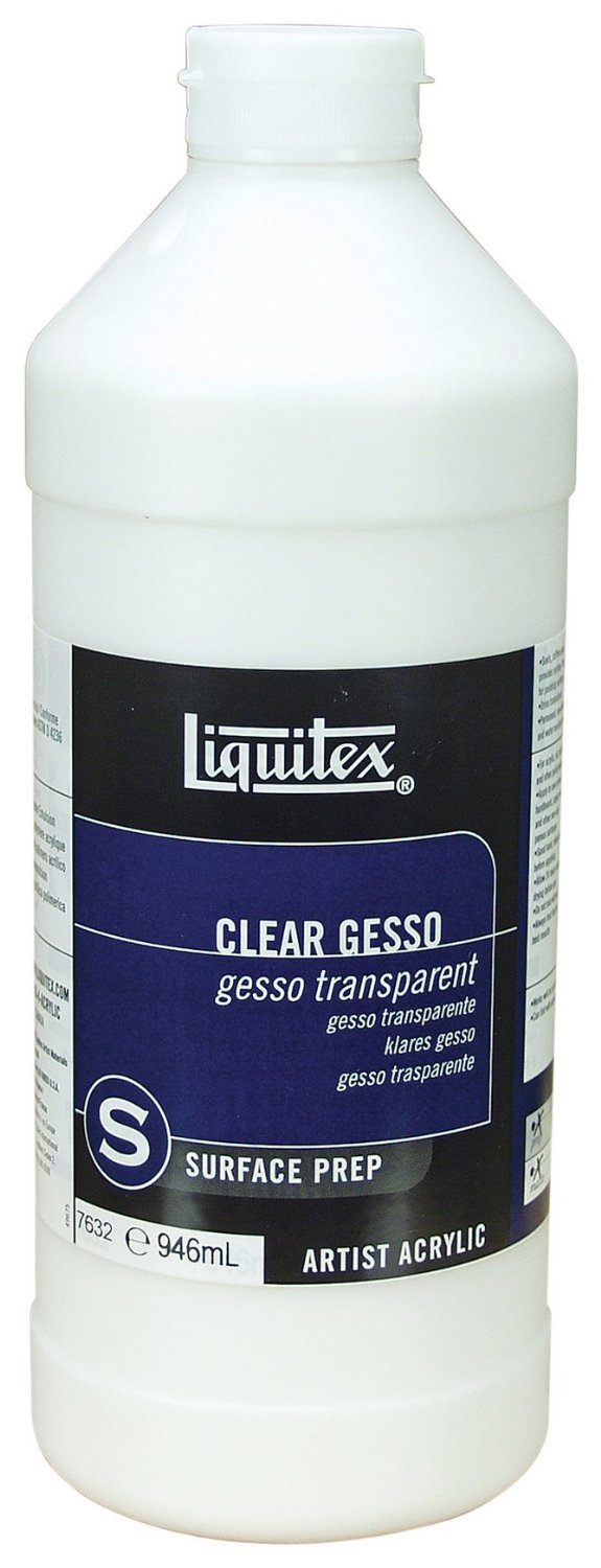 Prozoren ground za čiščenje GESSO transparent - 946 ml