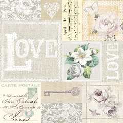 Serviete za decoupage – Love - 1kom