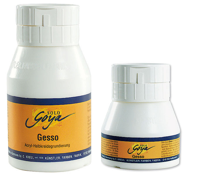 Ground Gesso Solo Goya 500 ml