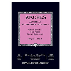 Blok papir ARCHES® Aquarelle Watercolour – 12 listov