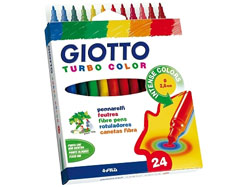 Flomasterji GIOTTO TURBO COLOR / 24 barv