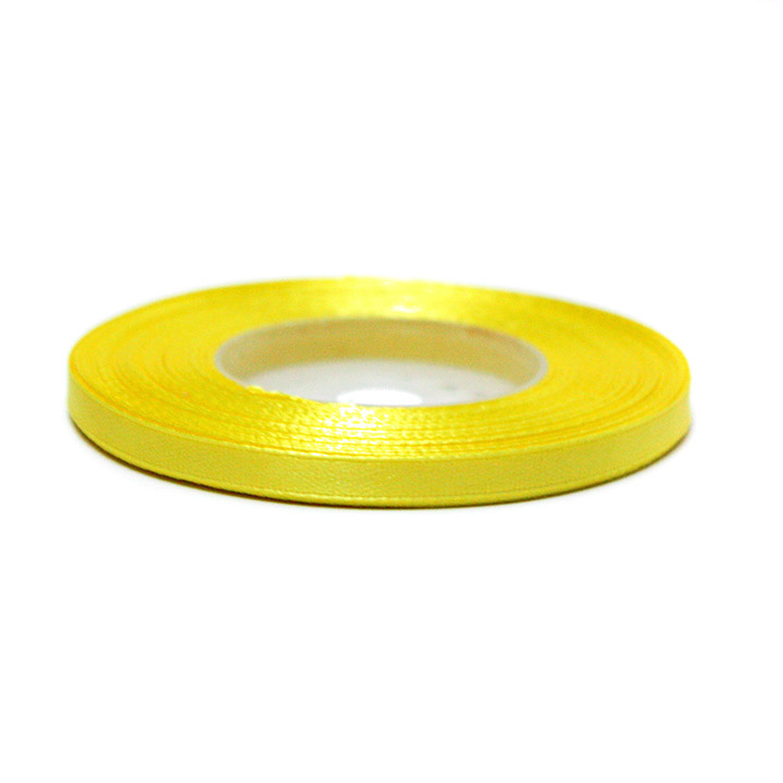 Satenast trak 6 mm – lemon