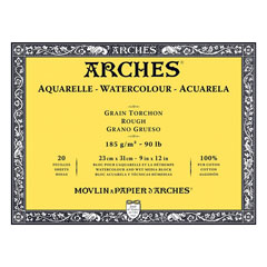 Blok ARCHES® Aquarelle Watercolour Rough - izberite format