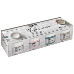 Chalk paint barva Kreul Basic set 4 x 150 ml