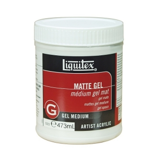 Mat gel medium Liquitex 473 ml