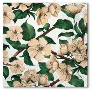 Serviete za decoupage Apple Blossoms - 1 kos