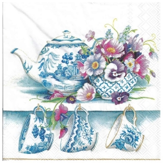 Serviete za decoupage Fine Bone China - 1 kos