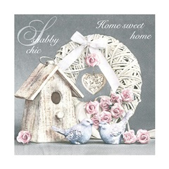 Serviete za decoupage - Shabby Chic Home - 1 kos