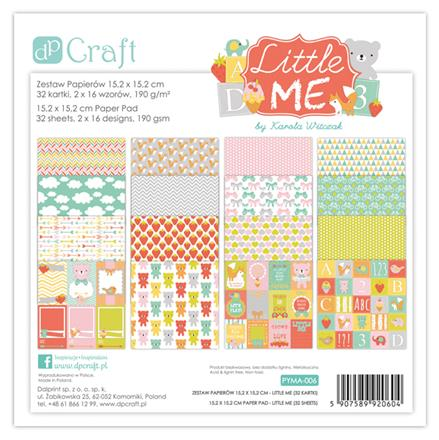 Set papirja za scrapbooking - Little Me