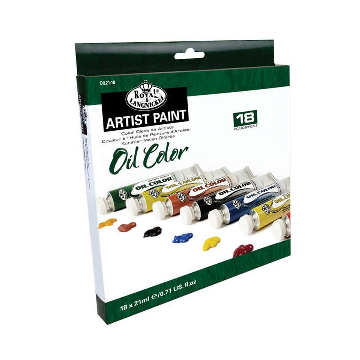 Set oljnih barv Royal & Langnickel - 18x21 ml