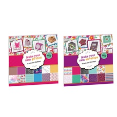 Ustvarjalen set Craft Sensations za scrapbooking tehniko - 24 listov