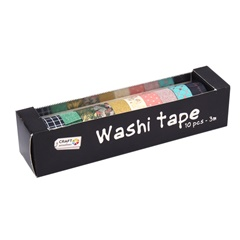 Washi trak Craft Sensations - 10 kosov
