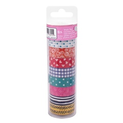 Washi trak Craft Sensations - 8 kosov